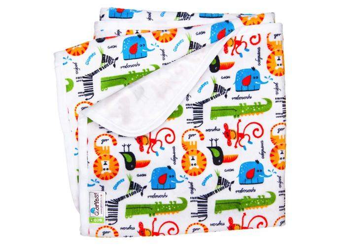 Купить Наматрасники, GlorYes Непромокаемая пеленка Сафари 80х68 см