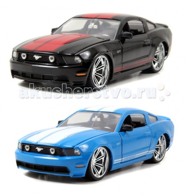 Машины Jada Diekast Модель 2010 Ford Mustang GT-Wheel Saber 8 1:24 jada diekast here patrol assortment 1 64