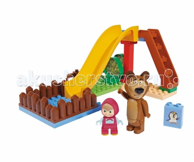 Конструкторы BIG Маша и Медведь Бассейн 29 деталей big big конструктор маша и медведь бассейн 29 деталей