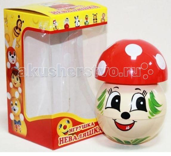 Развивающие игрушки Russia Неваляшка 13 см russia неваляшка зайчик 22 5 см
