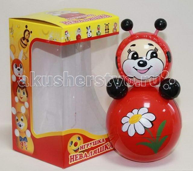 Развивающие игрушки Russia Неваляшка 16.5 см russia неваляшка зайчик 22 5 см