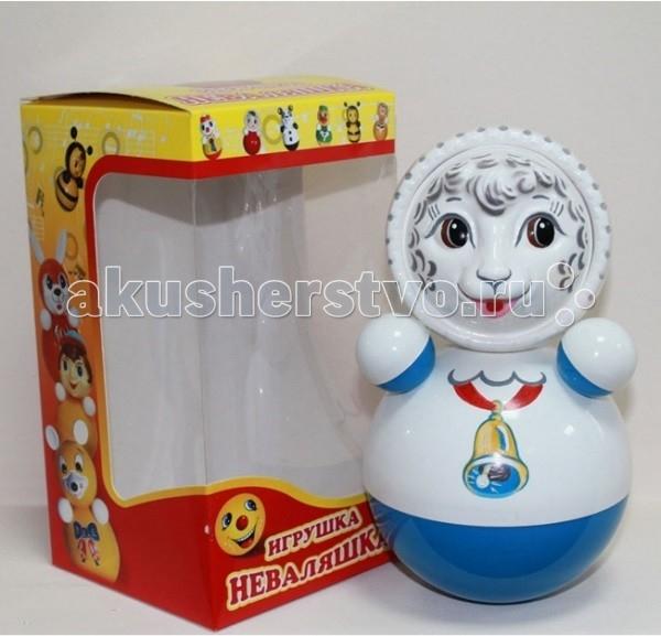 Развивающие игрушки Russia Неваляшка 21.8 см