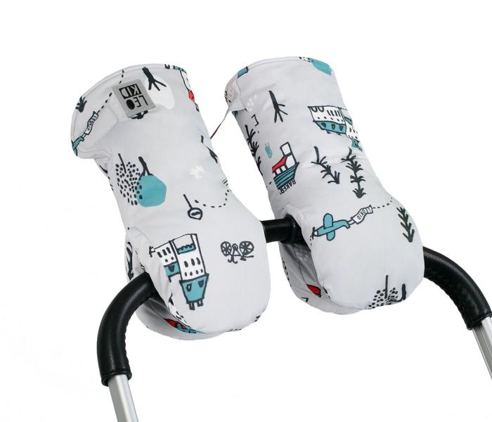 Муфты для рук Leokid Муфты-варежки для коляски Cute Park, Муфты для рук - артикул:593344