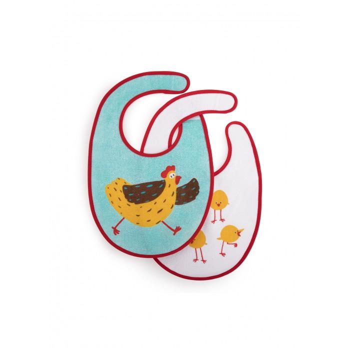Нагрудники Happy Baby Chicken 2 шт.