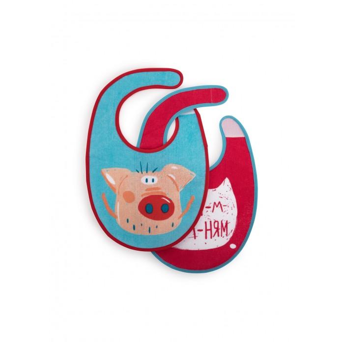 Нагрудники Happy Baby Pig 2 шт. baby girl s comfy cute cartoon pig style hand knitted warm gorro hat pink black