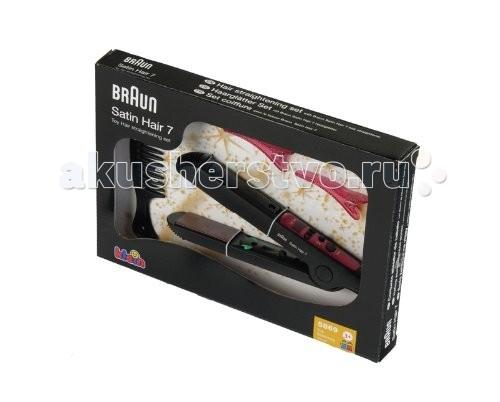 Ролевые игры Klein Набор стилиста с выпрямителем для волос Braun Satin Hair klein модель для причесок с утюжком для волос braun