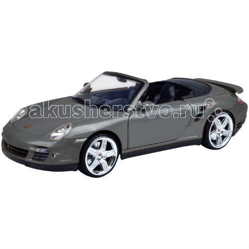 MotorMax Машинка коллекционная Porsche 911 Turbo Cabriolet 1:18Машинка коллекционная Porsche 911 Turbo Cabriolet 1:18MotorMax Машинка коллекционная Porsche 911 Turbo Cabriolet 1:18 будет отличным дополнением к вашей личной коллекции игрушечных машин. Созданный из литого метала, спортивный кабриолет крепок, реалистичен и вызывает полный восторг!   Особое внимание к мельчайшим деталям делает модель уникальной: ведь даже внутренний салон идентичен салону настоящего автомобиля! В процессе игры, юный водитель может открывать двери и сажать внутрь пассажиров, крутить руль и наблюдать за поворотами колес, открывать багажник и капот.   Играя с машинкой, ребенок развивает мелкую моторику и воображение. Можно представить и разыграть ситуацию с поломкой, ведь открыв капот, вы обнаружите имитацию двигательного отсека! А резиновые шины отлично катятся по ровной поверхности.   Гонконгский бренд Motormax делает все игрушки с любовью и аккуратностью, поэтому приобрести модель Porsche 911 Turbo Cabriolet в дополнение к коллекции — прекрасное решение!<br>