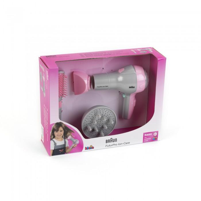 Ролевые игры Klein Набор парикмахера в коробке Braun klein модель для причесок с утюжком для волос braun