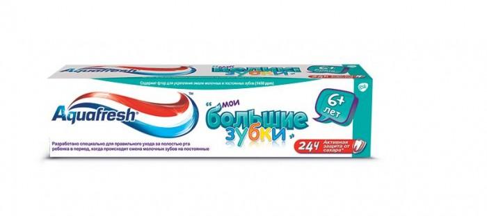 Гигиена полости рта Aquafresh Зубная паста Мои большие зубки 50 мл aquafresh зубная щетка hd зубная паста отбеливающая aquafresh 75 мл