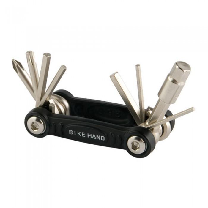 Аксессуары для велосипедов и самокатов Stels Набор ключей складной YC-286-B Bike Hand (8 ключей)