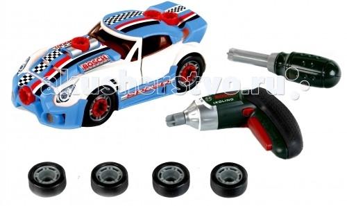 Klein Игровой набор Тюнинг ателье с машиной для сборки и шуруповертом