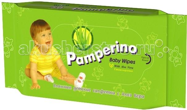 Салфетки Pamperino Детские влажные салфетки 50 шт. авангард pa 15308 pamperino