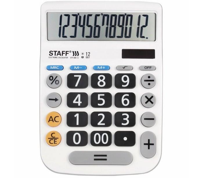 Купить Канцелярия, Staff Калькулятор Plus настольный DC-999-12