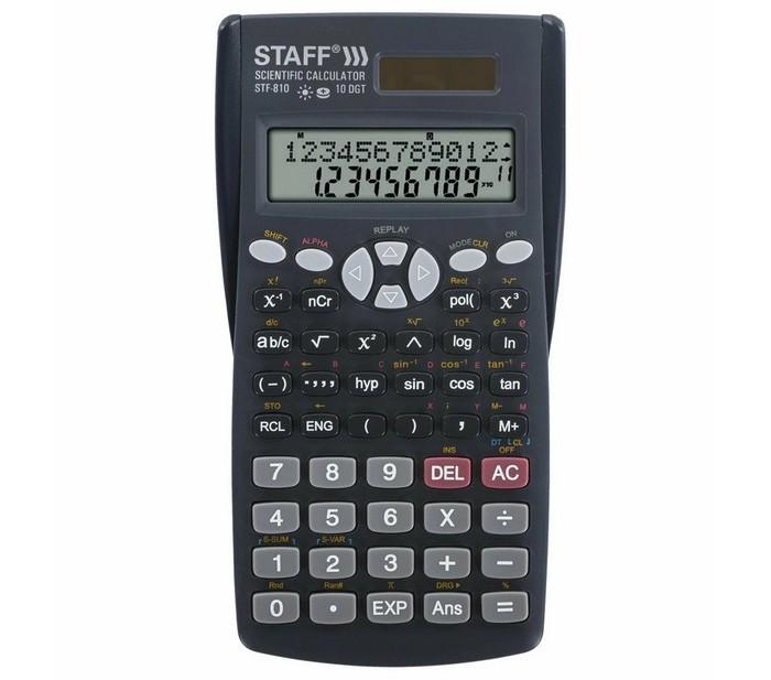 Канцелярия Staff Калькулятор инженерный STF-810