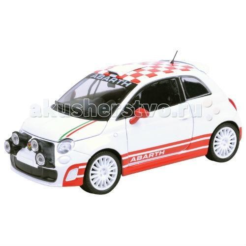 Машины MotorMax Машинка коллекционная 1:24 Abarth 500 R3T abarth фиат ритмо запчасть