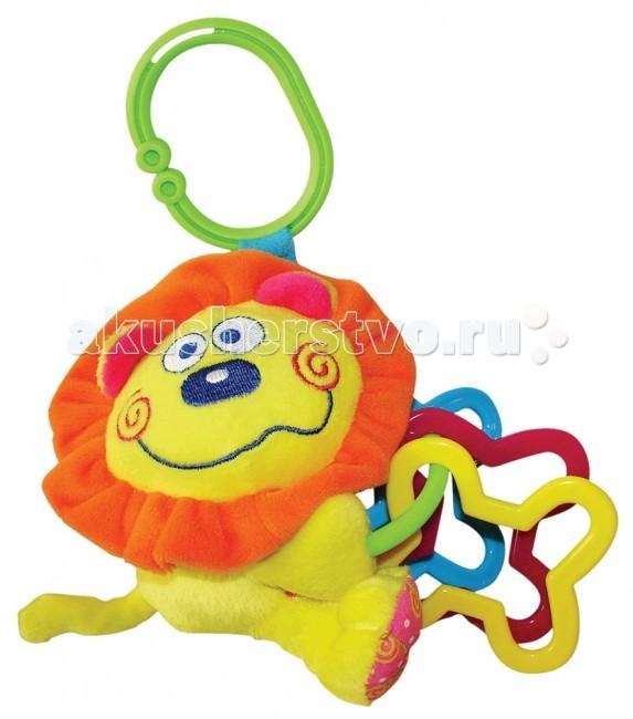Подвесные игрушки Мир детства Мини-подвеска Львенок жирафики игрушка подвеска львенок 93929