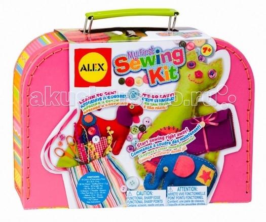 Наборы для творчества Alex Большой набор Мой первый набор для шитья