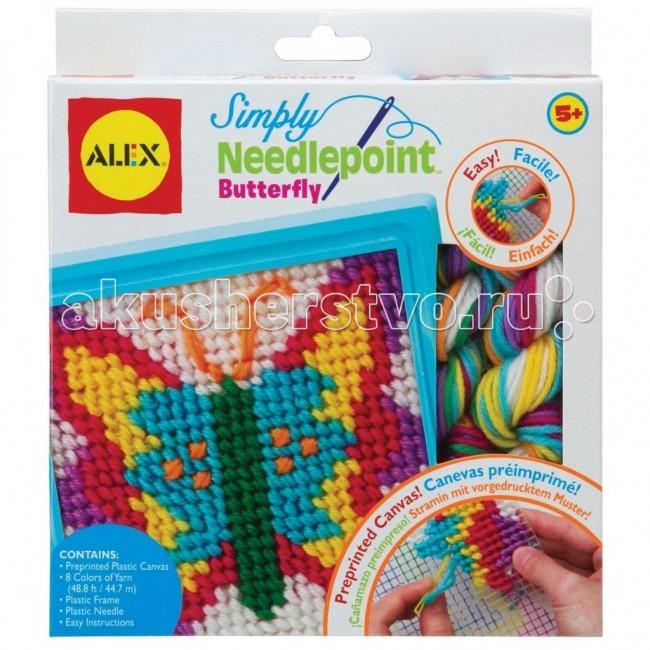 Наборы для творчества Alex Набор для вышивания Бабочка