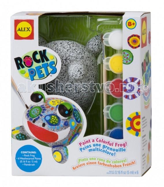 Заготовки под роспись Alex Набор Раскрась лягушку набор для детского творчества набор веселая кондитерская 1 кг