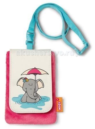 Сумки для детей Nici Чехол для мобильного телефона Слониха 13.5х9 см подставка для мобильного телефона немо 9 7 5см 658785