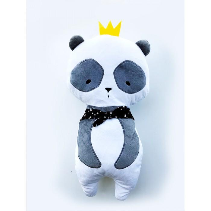 Клювонос Подушка для сна в автокресле Панда в короне