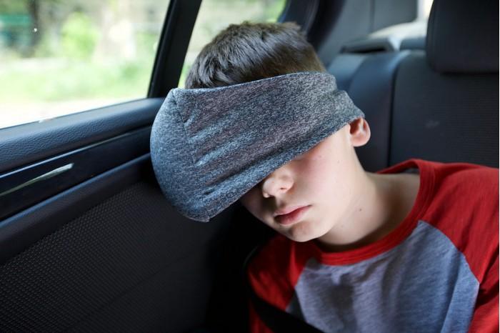 Аксессуары для автокресел Клювонос Маска-подушка для сна