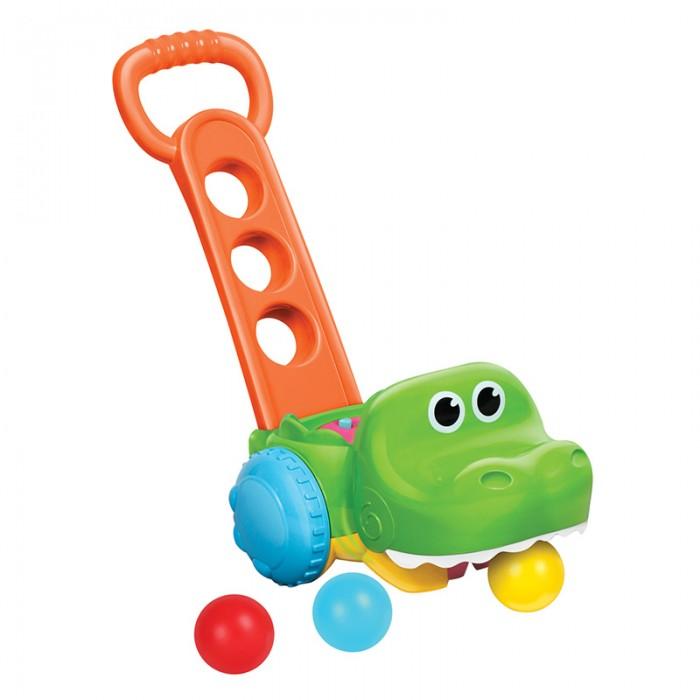 Каталки-игрушки B kids Крокодил с мячиками