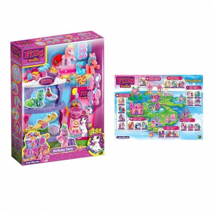 Filly Игровой набор Королевские лошадки День рождения