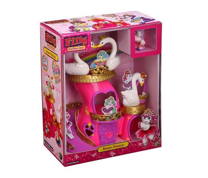 Купить Игровые наборы, Filly Игровой набор Лошадки-Балерины Лебединый замок