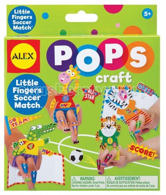 Наборы для творчества Alex Набор для творчества Pops Craft Веселый футбол наборы для творчества alex набор для вышивания любовь