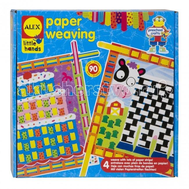 Наборы для творчества Alex Узорное плетение из бумаги наборы для творчества русский стиль плетение из фольги