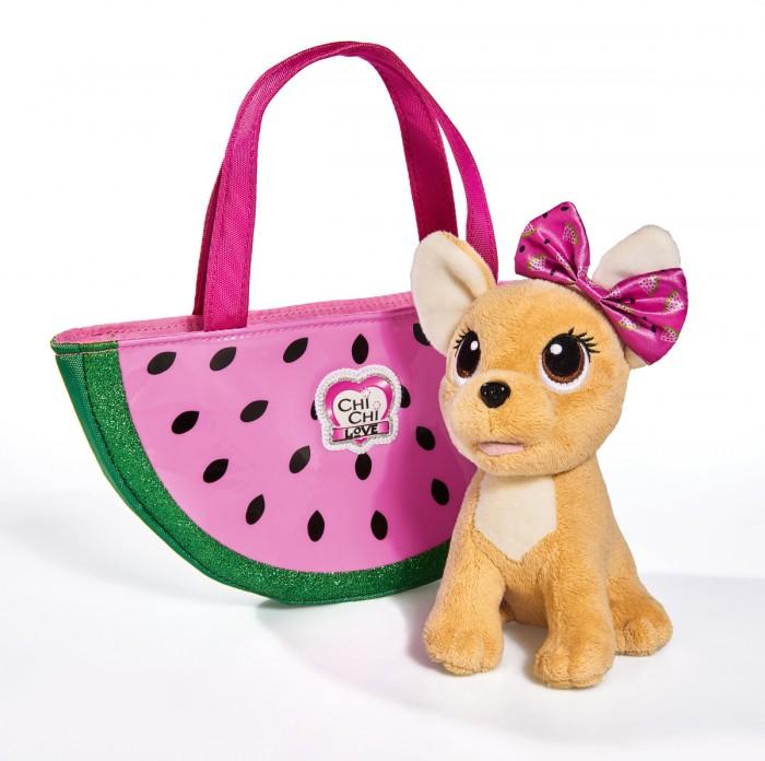 Мягкие игрушки Chi-Chi Love собачка Фруктовая мода с сумочкой 18 см, Мягкие игрушки - артикул:598294