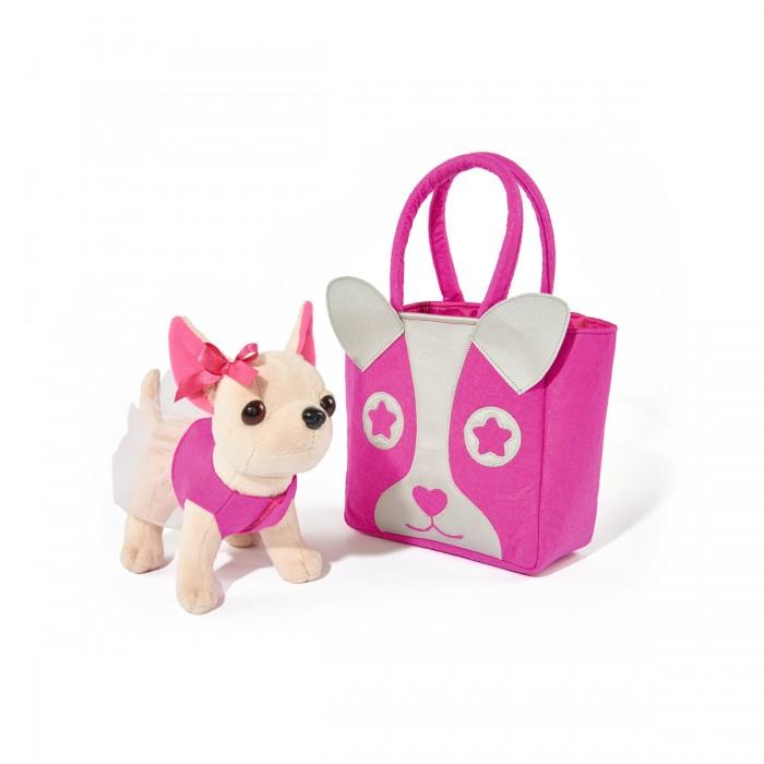 Мягкая игрушка Chi-Chi Love собачка Чихуахуа с сумкой 20 см