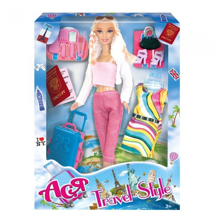 Купить Куклы и одежда для кукол, Toys Lab Кукла Ася Блондинка с косичками Путешественница