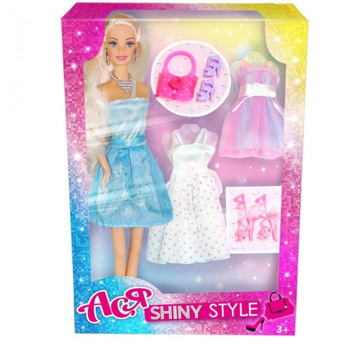Фото - Куклы и одежда для кукол Toys Lab Кукла Ася Блестящий выход дизайн 1 28 см куклы и одежда для кукол toys lab набор кукла ася морское приключение