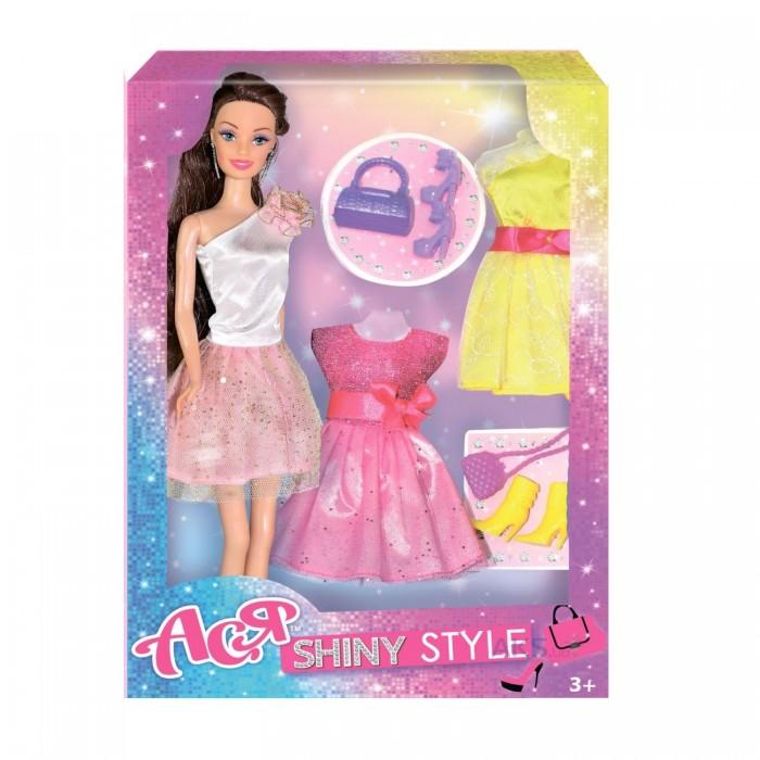 Купить Куклы и одежда для кукол, Toys Lab Кукла Ася Шатенка Сверкающий стиль