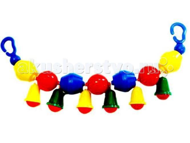 Дуги для колясок и автокресел Аэлита Подвеска Бубенчики игрушки