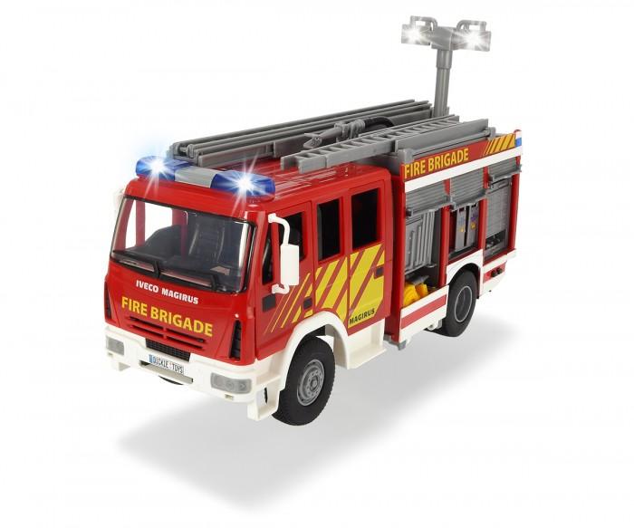Dickie Пожарная машина с водой свет звук