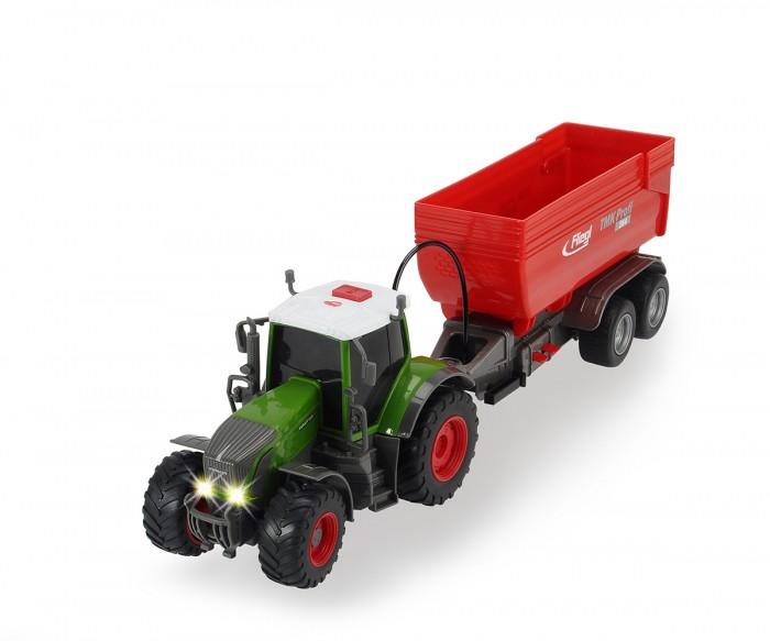 Машины Dickie Трактор Fendt с прицепом 41 см dickie toys dickie toys трактор fendt с прицепом