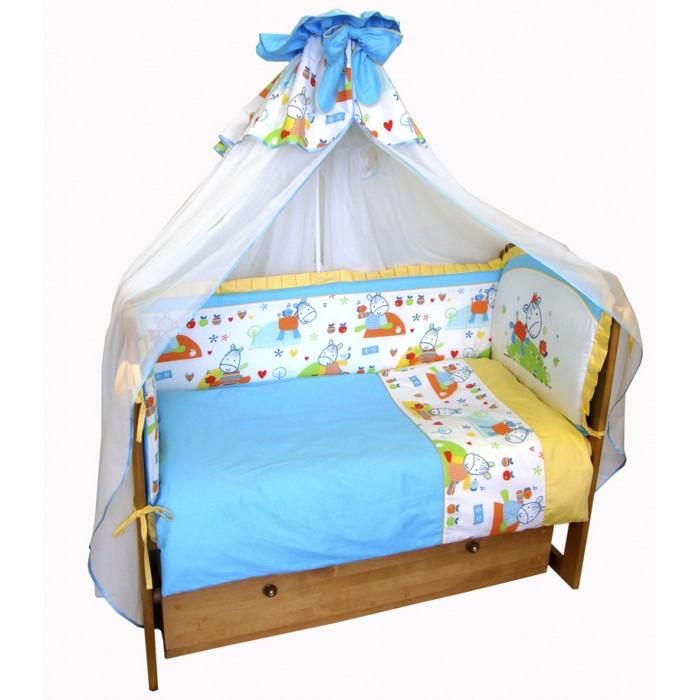 Постельное белье Soni Kids Ослик-хвостик (3 предмета) постельное белье soni kids в кроватку 3 предмета