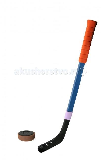 Игрушки для зимы SafSof Клюшка хоккейная 70 см + шайба игрушки для детей
