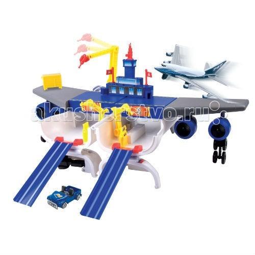 MotorMax Набор Boeing самолет трансформирующийся в аэропорт