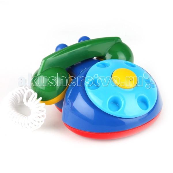 Развивающие игрушки Аэлита Детский телефон на спиральном шнуре