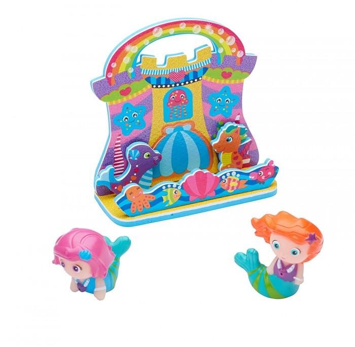 Купить Игрушки для ванны, Alex Набор фигурок-стикеров для ванны Русалочки