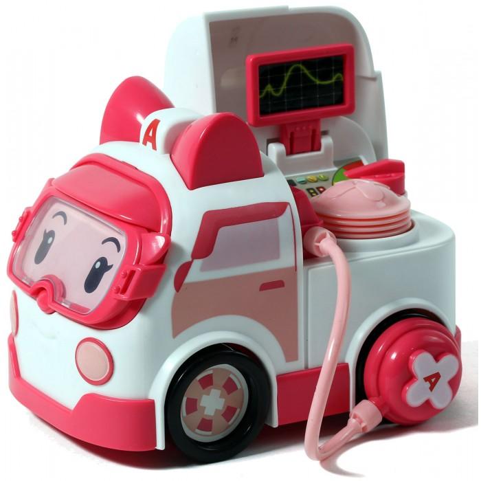 Машины Робокар Поли (Robocar Poli) Машинка Эмбер с аксессуарами