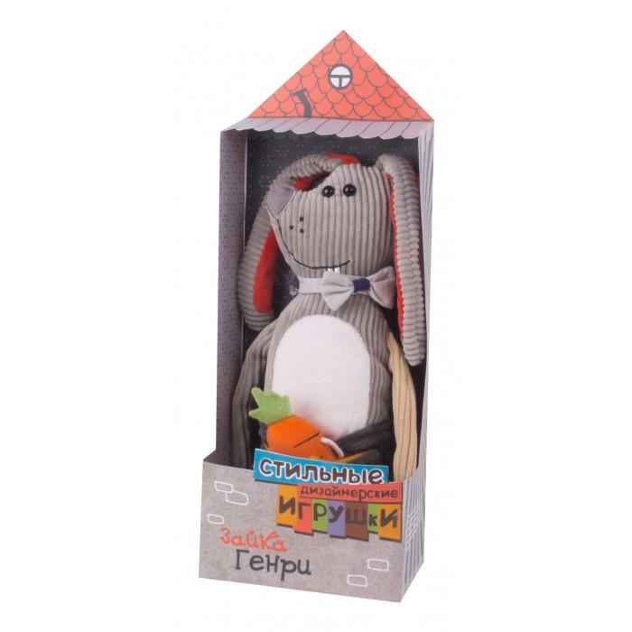 Мягкие игрушки Gulliver Заяц Генри 21 см, Мягкие игрушки - артикул:600394