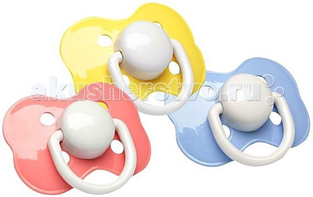 Пустышки Курносики латексная ортодонтическая с 0 мес. 2 шт. free flow дизайн ортодонтическая с 0 мес 2 шт