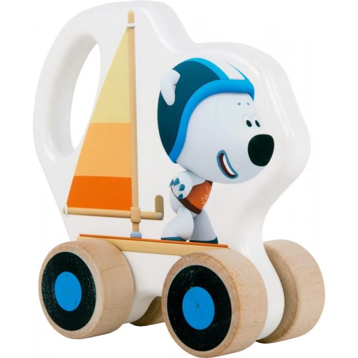 Каталки-игрушки Ми-ми-мишки Белый Медведь Тучка