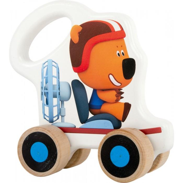 Каталки-игрушки Ми-ми-мишки Бурый Медведь Кеша на веревочке