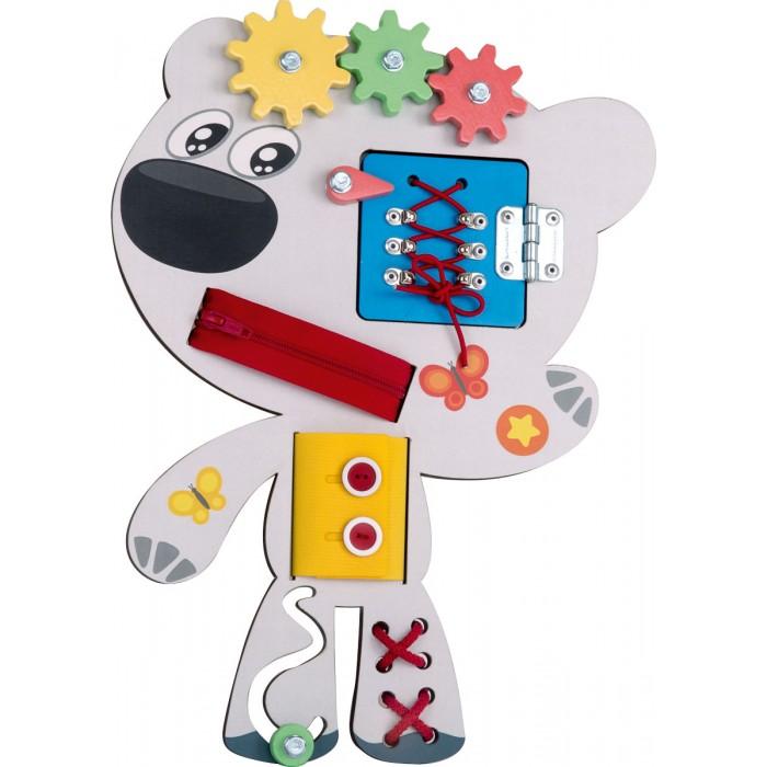Деревянная игрушка Ми-ми-мишки Бизиборд Тучка